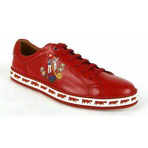 Bally Men's Animal Collection Low-Top Sneaker Shoe